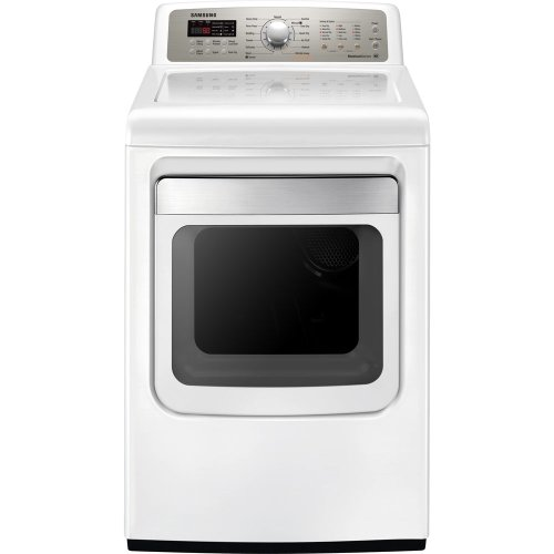 Samsung DV484ETHAWR  7.4 Cu. Ft. Electric Front Load Dryer with NSF-Sanitize and 13 Drying Cycles, Neat White