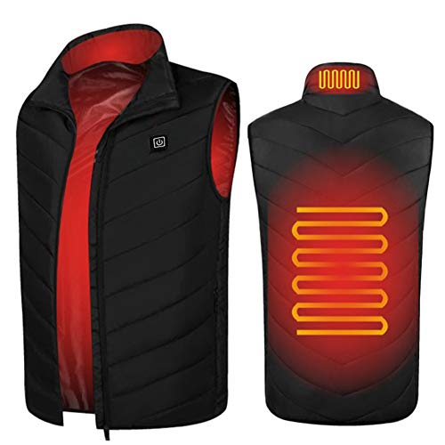 SH-JS Heated Vest for Men Lightweight USB Charging Electic Heated Jacket Women (Battery Not Included)