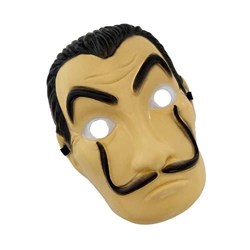 Halloween Horror La Casa De Papel House of Cards Salvador Dali Bella Bridge Dali Mask