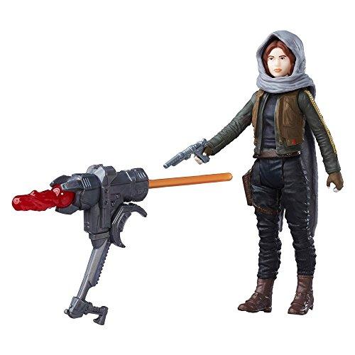 Star Wars Hasbro – B9846 Rogue One – Sergeant Jyn Erso (Jedha) – Figurine 9 cm