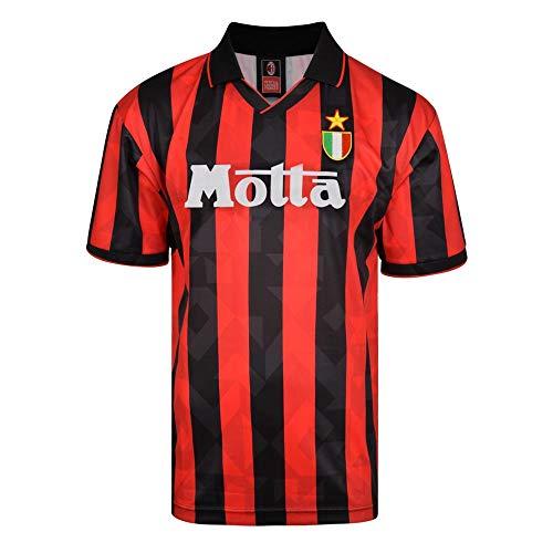 Score Draw AC Milan 1994 Retro Football Soccer T-Shirt Jersey