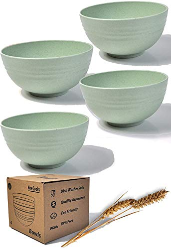 Wheat Straw Bowl (Green, Extra Large)