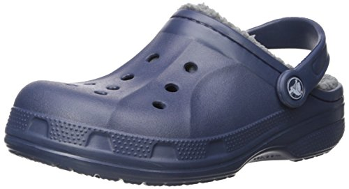 Crocs Crocs Crocs Winter Clog, Unisex - Erwachsene Clogs, Blau (Navy/charcoal), 42/43 EU
