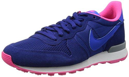 Nike 629684 402 Wmns Internationalist Damen Sportschuhe - Running Mehrfarbig (Dp Ryl Bl/Hypr Cblt-Hypr Pnk-L) 36.5