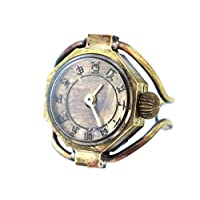 リングウォッチ(指輪時計) #RBW-01 十二支文字盤の和時計仕様 手作り時計のJHA