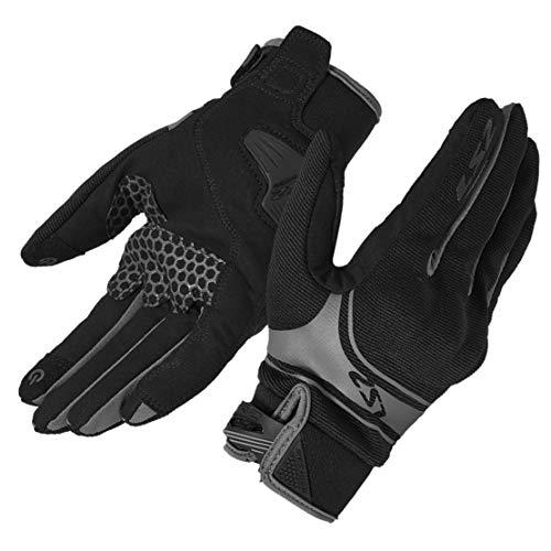 Guantes de Moto 4 Estaciones Universales Respirable Pantalla Táctil Guantes Llenos de Dedos para Hombres y Mujeres,XL