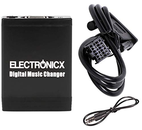 Elec-M06-FRD1 Adaptador de Musica Digital para Interfaz USB SD AUX Cambiador CD, mp3-player para Ford 12 Pin