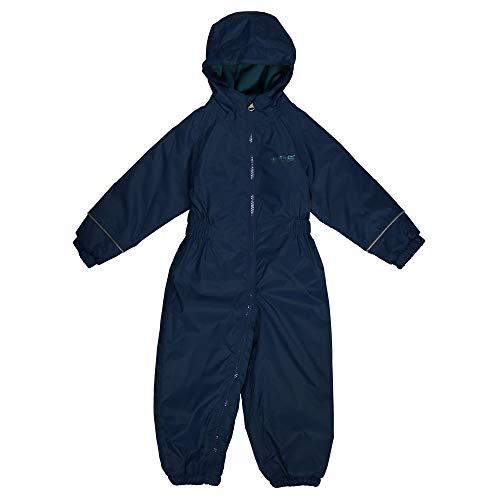 Regatta Unisex Kinder Splosh Iii wasserdicht und atmungsaktiv, isoliert, leicht, All-in-One-Anzug, Unisex Kinder, Anzug, RKP155 540CA7, Blau (Navy, 2-3 Jahre