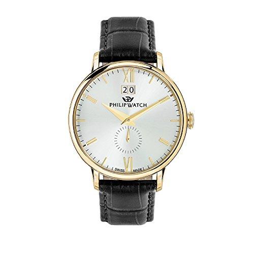 Philip Watch Orologio Uomo, Collezione Truman, Analogico, Solo Tempo, 3H, Quarzo - R8251595002