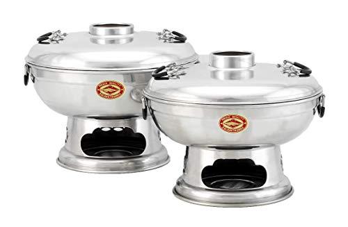 Mongolentopf - Hot Pot - Thai Fondue - Feuertopf aus Thailand (20 cm)