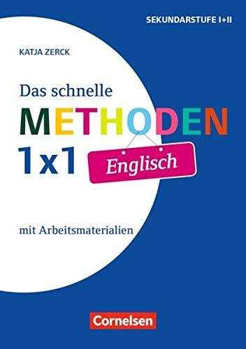 Fachmethoden Sekundarstufe I und II: Das schnelle Methoden-1x1 Englisch (2. Auflage): Buch mit Kopiervorlagen über Webcode