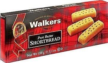 Walkers Biscotti Scozzesi Puro Burro - 1 x 150 Grammi