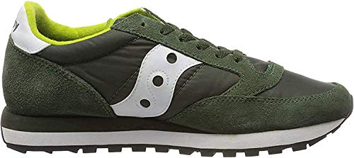 SAUCONY scarpe sneaker uomo JAZZ ORIGINAL 2044-275 verde e bianco 42 eu - 8.5 us - 7.5 uk