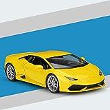 Modelo Coche 1:24 para Lam-Borghini Aventador LP610-4 Aleación De Autos Deportivos Modelo De Automóviles Crafts Collection Toy Regalo (Color : Amarillo)