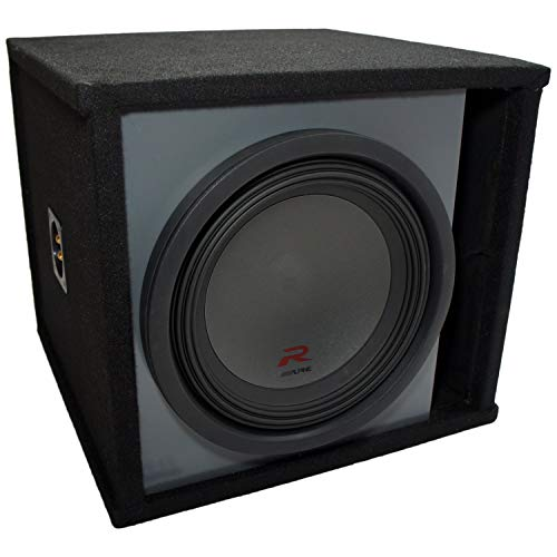"""Universal Car Stereo Paintable Ported 12"""" Alpine R-W12D4 Type R Car Audio Subwoofer Custom Sub Box Enclosure Package New"""