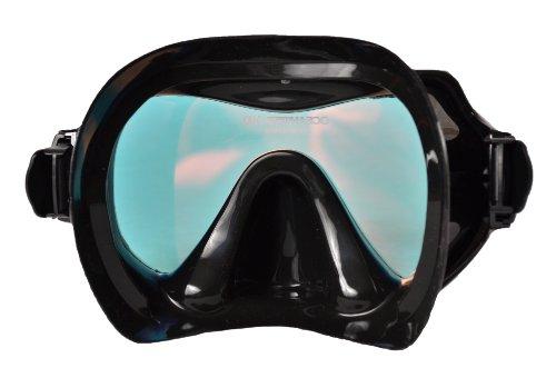 Product Image 1: SeaDive Oceanways Superview-HD w/Anti-UV/Glare Optical Multicoating w/Anti-Fog Scuba/Spearfishing Dive Mask (OM940BKSFF)