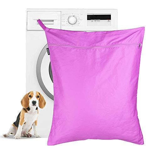 Bolsa de lavandería para mascotas   Bolsa de lavado Petwear   Removedor de pelo para perros y gatos para lavadoras   Gran tamaño adecuado para camas, juguetes, collares   Pukkr