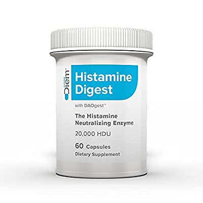 Diem Direct DAO 10,000 HDU - 60 Caps - Histamine Neutralizing Enzyme - No More Red Wine Headaches - Relieve Histamine Intolerance with Diamine Oxidase - Defend Against - Allergy-Like Reactions
