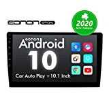 2020 Double Din Car Stereo,Android 10 Radio with Bluetooth 5.0, Eonon 10.1 Inch Car Radio Android Head Unit Car Stereo with Navigation with WiFi/Fast Boot/Backup Camera(NO DVD/CD)-GA2187