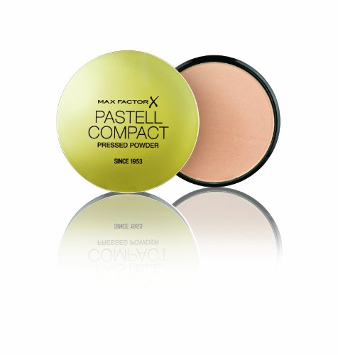 Max Factor Pastell Compact Powder Pastell 4 – Mattierendes Puder Make-up – Fixierpuder für Foundation und Rouge – 1 x 20 g
