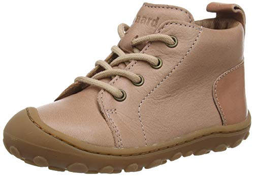 bisgaard gerle lace Jungen Unisex Kinder First Walker Shoe, Nude, 25 EU