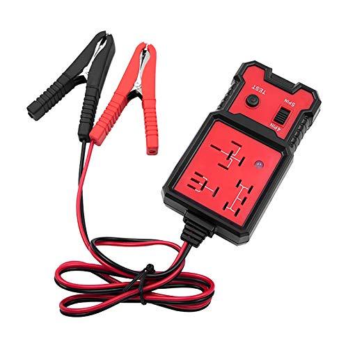 Comprobador de relé para coche, 12 V, automóviles, comprobación de diagnóstico preciso de batería automática, herramienta de diagnóstico profesional de relé automático