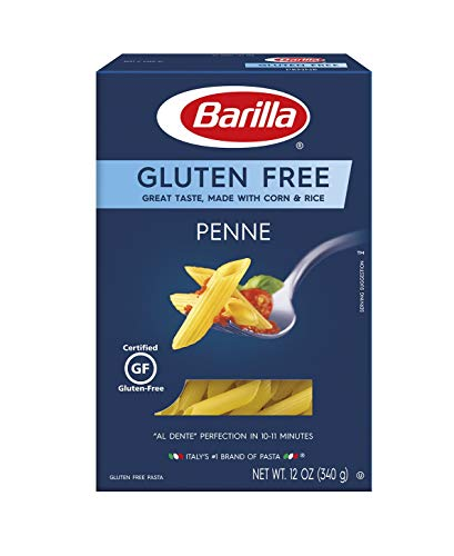 Barilla Gluten Free Penne Pasta, 12 Ounce, Pack of 4