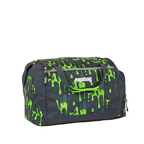 ergobag Sporttasche - mit Nassfach, 20 Liter - GlibbBär - Grün