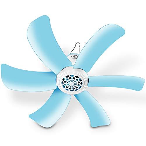 Elektrolüfter 16-Zoll-Deckenventilator, Outdoor-Campingzelt mit Mückenschutzventilator, tragbarer 12-V-Energiesparventilator für zu Hause