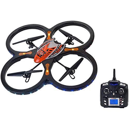 Spidko 37398 - Drone B/O R/C con Telecamera, 60 x 60 cm