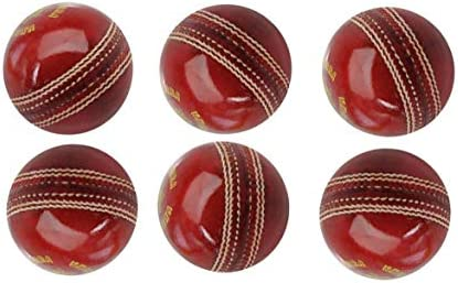 AnNafi Cricket Leather Balls A Grade Handstitched RED Senior Official Balls 6 product image
