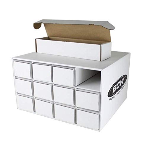 Card House Storage Box - with 12 800-Count Storage Boxes by BCW