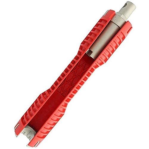 Fregadero multifuncional y llave de baño Plomería herramienta herramienta de instalación del grifo del hogar Válvula de ángulo de ángulo Fregadero Reparación de desmontaje para plomeros y cocina inodo