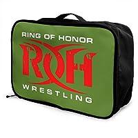 ROH キャリーオンバッグ トラベルバッグ 化粧ポーチ 防水 旅行バッグ 大容量 キャリーバッグ コスメポーチトートバッグ 収納バッグ 旅行用品 男女兼用 旅行 出張用