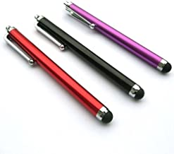 Bargains Depot® (Black & Red & Purple) 3 pcs (3 in 1 Bundle Combo Pack) Capacitive Stylus/styli Universal Touch Screen Pen for Tablet PC Computer : Apple iPad (first generation) 16GB / 32GB/ 64GB wifi + 3G model (MB292LL/A, MB293LL/A, MB294LL/A, MC349LL/A, MC496LL/A, MC497LL/A) Verizon, AT&T compatible