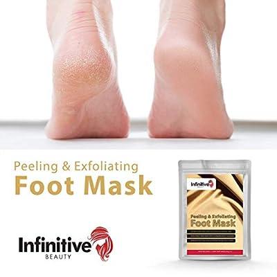 2er pack Fußpeeling Maske