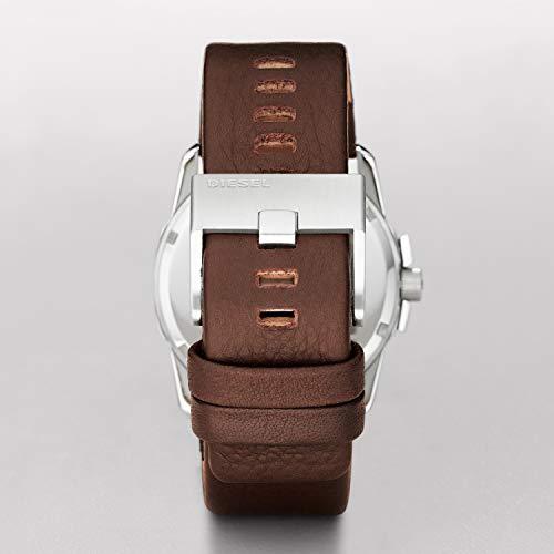 Diesel Homme Analogique Quartz Montre avec Bracelet en Cuir DZ1206