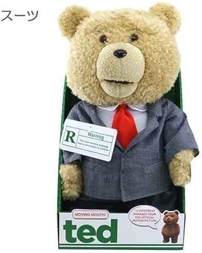 ted   Ted  suit  16 Zoll (etwa 40 cm) sprechen gefüllte Filmfigur Toy Store