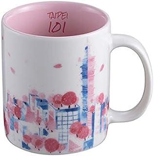 Starbucks スターバックス 2019 台北101限定 3oz さくら デミタスカップ 89ml 台湾 海外 桜 [並行輸入品]