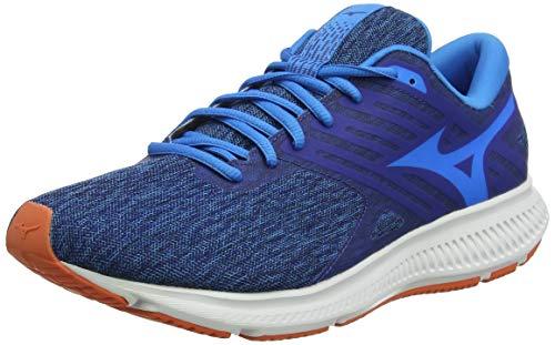Mizuno EZRUN LX 2, Zapatillas de Running para Hombre, Azul (Diva Blue/White/Nasturtium 02), 42 EU