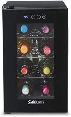 Cuisinart CWC-800CEN 8-Bottle Private Reserve Wine Cellar, Black