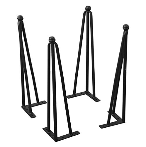 Home Soft Things Serenta Hairpin Table Legs 4 Piece Set, 18