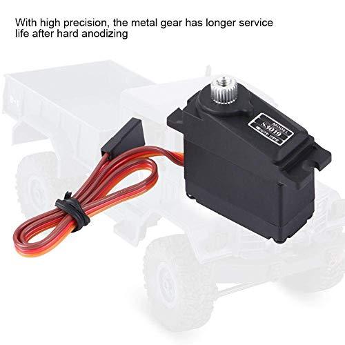 RC Car Servo, wasserdichtes 17g Digital Servo Metallgetriebe Zubehör Kompatibel mit WPL1625 Fernbedienungs-LKW