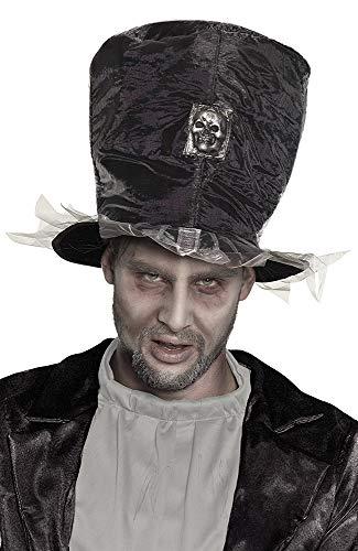 Boland 72235 - Cappello Zombie Sposo, Colore: Grigio Argento