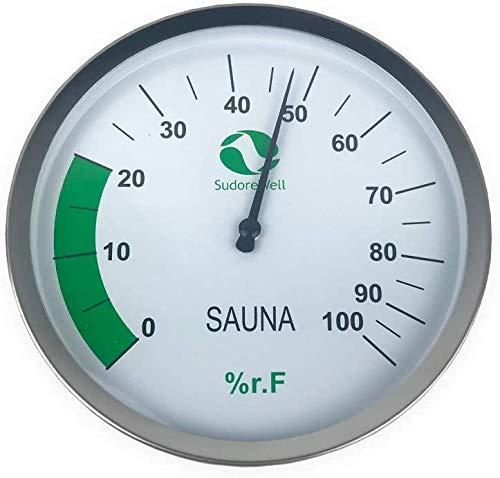 SudoreWell® Sauna Hygrometer Classic Ø125mm