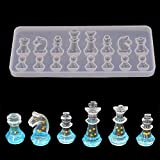 VONUTU 1pc International Chess Shape Silicone Mold Diy Clay Epoxy Resin Pendant Decoration Molds Candy - Clay...