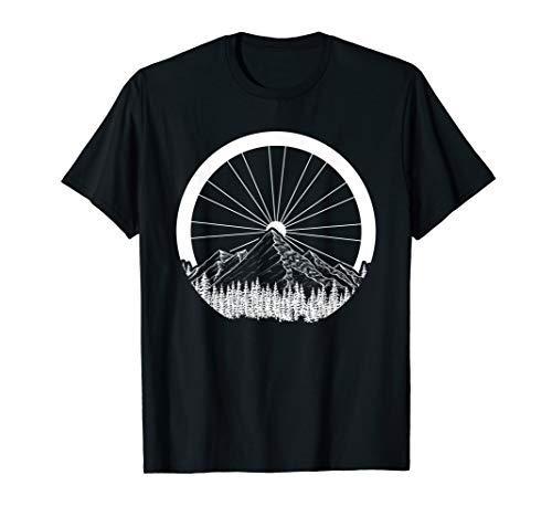 Motiv-Sprüche Mountain-Bike T-Shirt für Fahrrad-Downhill T-Shirt