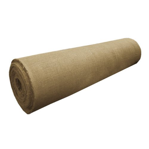 40 in Wide X 100Yd Long Natural Burlap Roll