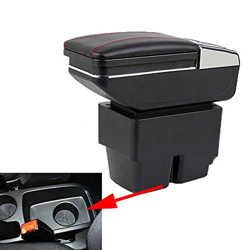 szss-car Leather Car Center console Armrest box auto parti interne braccioli Storage box