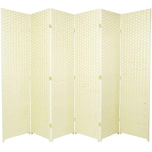BlueBoxInnovations 4 Panel Entwine Handmade Dark Brown Coloured Room Divider//Splitter Screen